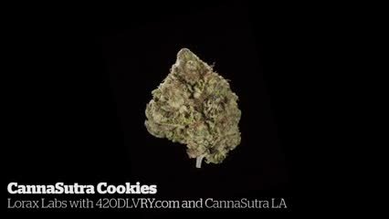 Canna Sutra Cookies            Lorax Labs with 420DLVRY.com and CannaSutra LA