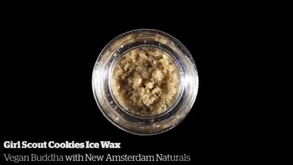 Girl Scout Cookies Ice Wax           Vegan Buddha with New Amsterdam Naturals