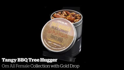 Tangy BBQ Tree Hugger              Om All Female Collection with Gold Drop
