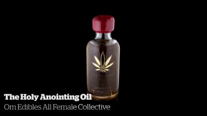 The Holy Anointing Oil        Om Edibles All Female Collective