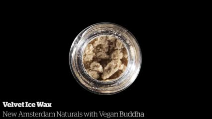 Velvet Ice Wax           New Amsterdam Naturals with Vegan Buddha