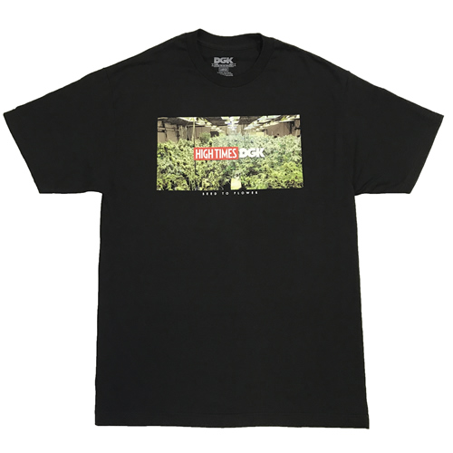 Tシャツ「HIGH TIMES × DGK Seed to Flower (ハイタイムス×DGK 種から花穂へ)」