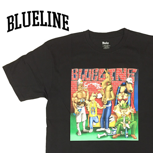 BLUE LINE CLOTHING Tシャツ 「BLUELINE 10YEARS (ブルーライン 10周年)」