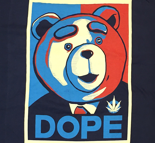 Tシャツ 「TED DOPE (テッド ドープ)」