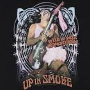 Tシャツ 「Cheech & Chong  Up in Smoke  with a pair of panty house (チーチ&チョン アップインスモーク ギター)」[PAR138-SF-2]
